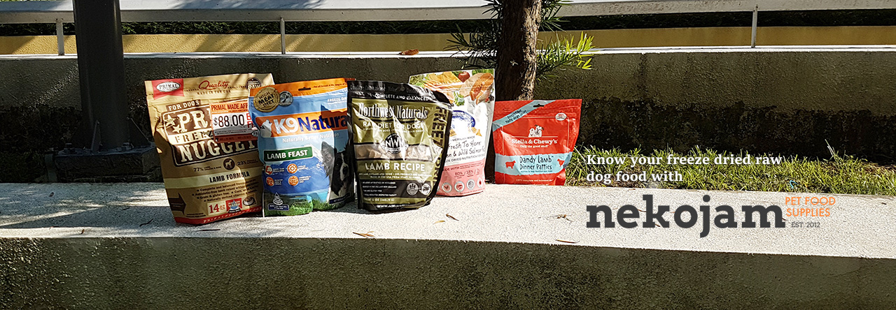 Easy Freeze Dried Dog Food