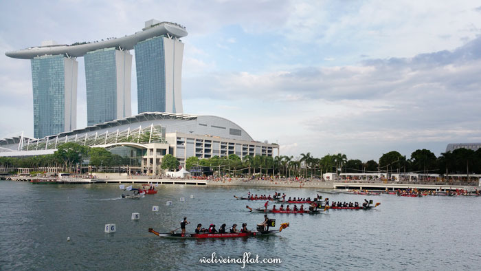 DBS Marina Regatta 2015 dragonboat race