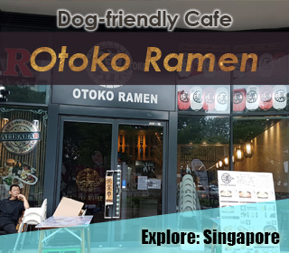 dog friendly otoko ramen singapore