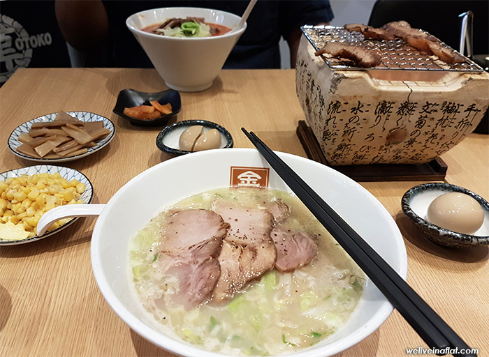 dog friendly otoko ramen - cafe and eating places near hortpark, henderson waves, southern ridges, kent ridge park
