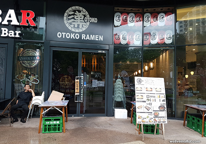 otoko ramen - dog friendly cafe and eating places near hortpark, henderson waves, southern ridges, kent ridge park