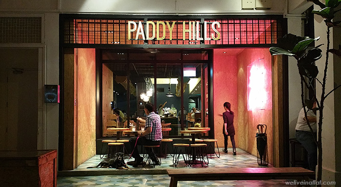 paddy hills dog friendly cafe and eating places near hortpark, henderson waves, southern ridges, kent ridge park