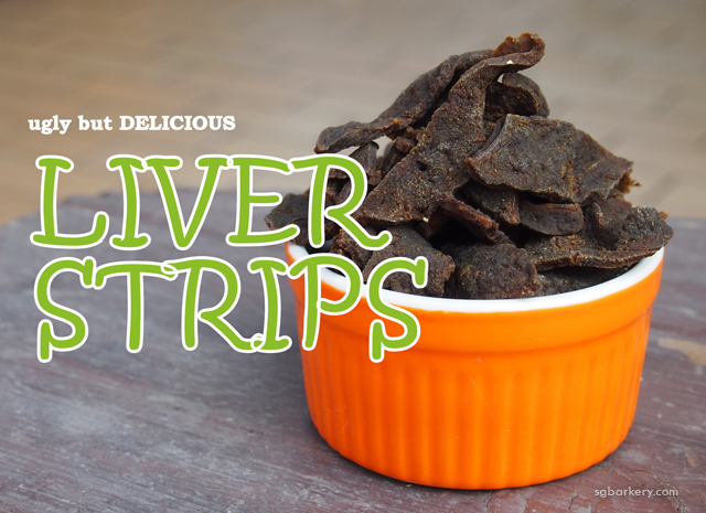 The Barkery Liver Strips