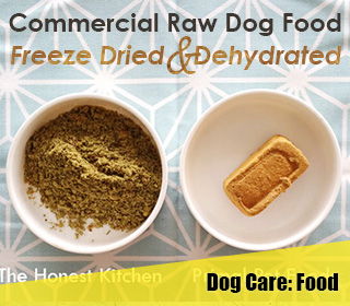 commercial raw dog food freeze dried dehydrated primal honest kitchen