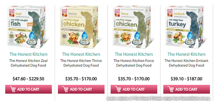 the honest kitchen food at earnest mutts online store