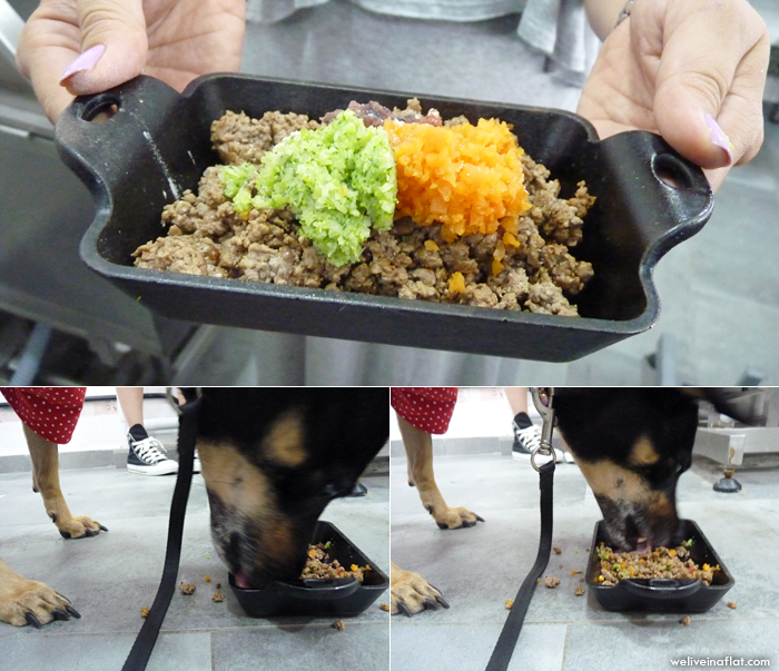 wagging rights cooked food