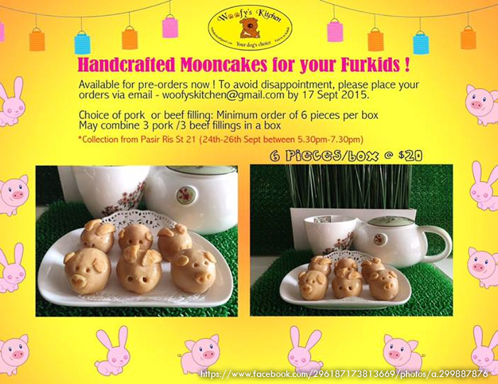 woofy's kitchen dog mooncakes