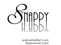 snappy happy photo challenge logo black and white